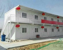 Hot Sale Cheap Light Steel Frame Prefab House Temporary House for Africa