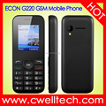 1.8 Inch Full Mirror Screen Single SIM Card GSM Mobile Phone ECON G220 Feature Phone
