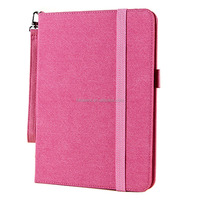 Leather Clutch Case with Hand Strap For Ipad air/ ipad 5