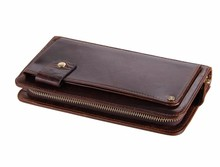 2016 Leather Bag Case Cell Phone New Wallet Manufacturer
