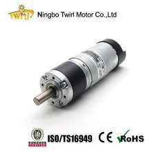 China manufacturer 36mm low rpm high torque 12V 24V dc gear motor with CE ROHS ISO TS16949 certified OEM