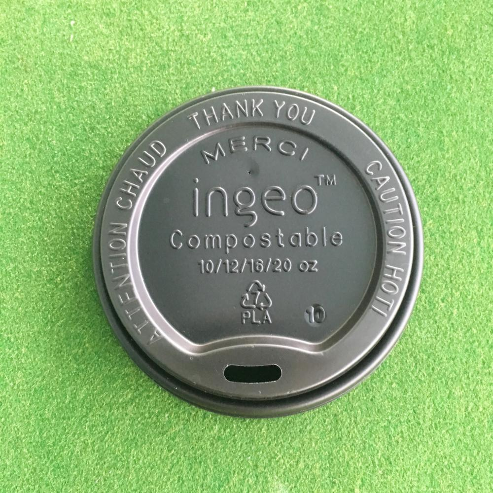 100% Compostable PLA Hot Cup Lid