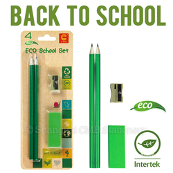 Eco friendly small encouragement gifts under 1.00 for kids paper pencil set