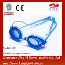 Royal blue adjustable antifog best swim goggle