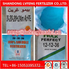 npk 20 20 20 100% water soluble powder vegetable and fruit fertilizer