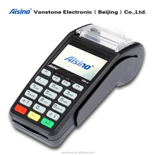Linux Handheld Mobile Wireless Payment System with WiFi, BT, GPRS, 3G, and Thermal Printer POS Terminal
