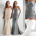 Royal Blue Bridesmaid Dresses Silver Gray High Quality Vestidos De Burgundy Wholesale Corset Long Mermaid Brides Maid