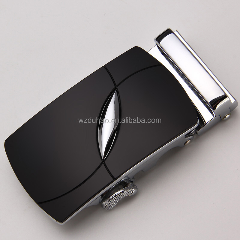 Custom Mens Nickel Alloy Material Automatic Buckles For Men Accessories Belt