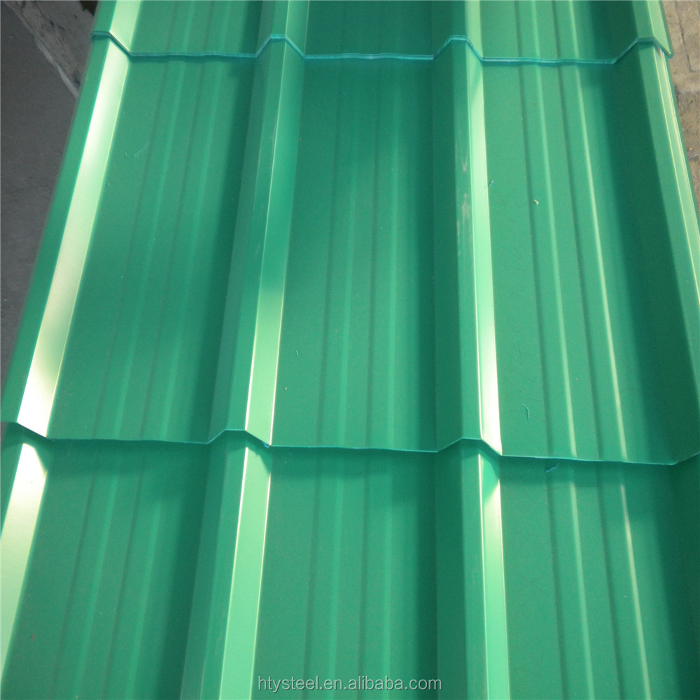 color coated metal trapezoidal corrugated roof sheets