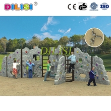 Wholesale children climbing equipment mini climbing rock wall for sale