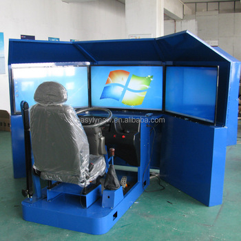 trailer truck driving simulator