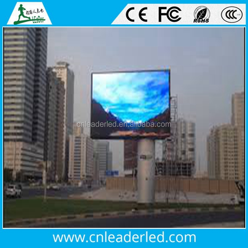 LEADER Full Color Video Screen/Outdoor Advertising LED Display (DIP P10, P16)