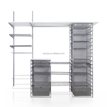 Customized Size storage Models of Shelves for Bedrooms