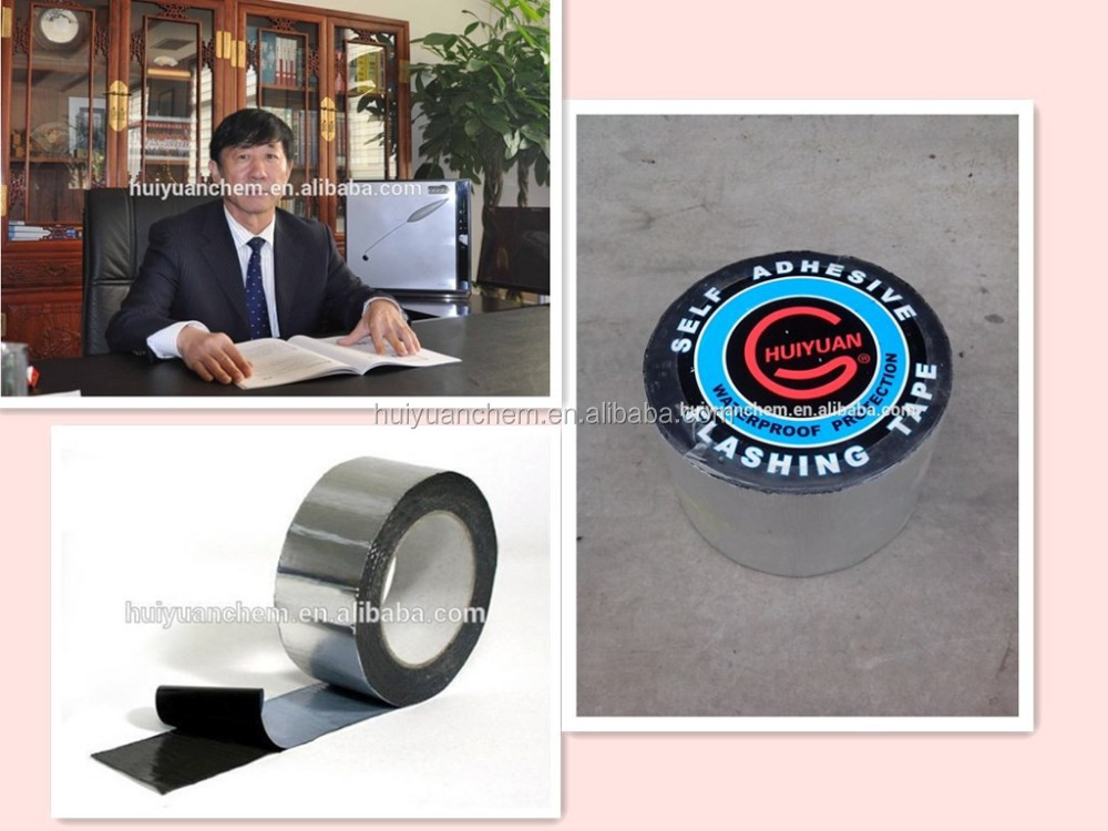 1.2mm Bitumen Self-Adhesive Tapesfor roofing,underground pool and especially for chemical factory