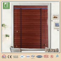 CHINA wood pulls blinds,2 inch wood blind