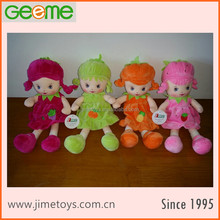 JM8886 Colorful Plush Fruit & Vegetable Dolls