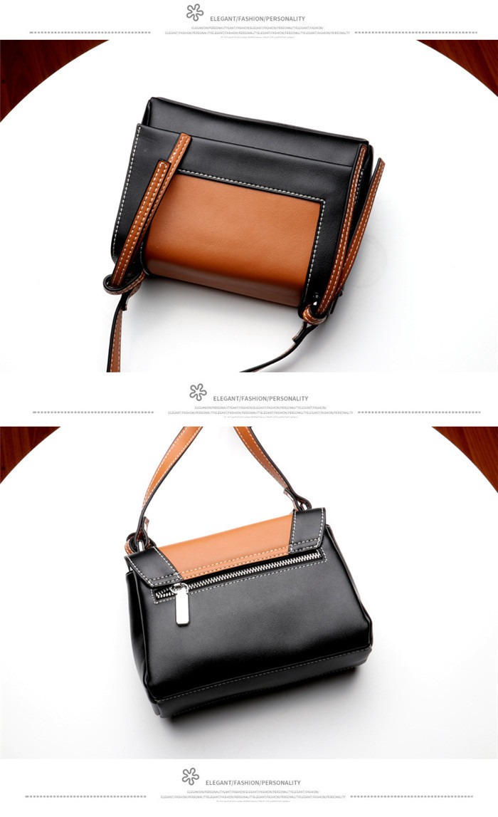Latest Design genuine leather lady shoulder bag women bags_8