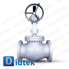 Didtek BS1873 WCB Flange Ends Worm Gear Operated Globe Valve