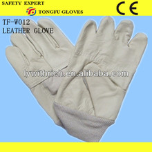 high quality tight cream leather gloves patterns