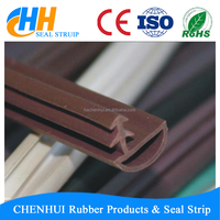 China Supplier wholesale rubber glass shower door seal strip, extruded rubber strip