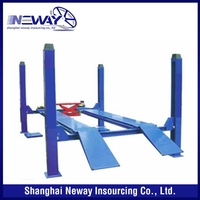 Cheap price custom competitive launch four post alignment car lift