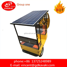 2018 best Selling Electric Three Wheel Rickshaw Solar Panel Petrol Auto Car for Sale Taxi Used Adult Tricycle