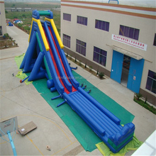 Cheap large water slide heavy duty inflatable water slides
