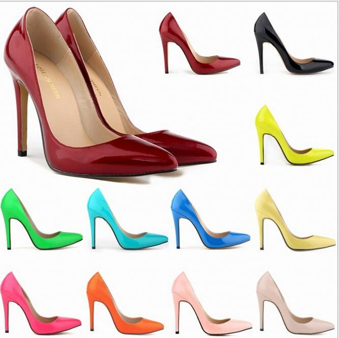 New design fashion women high heel shoes pumps customize ladies Office Wedding Dress Shoes