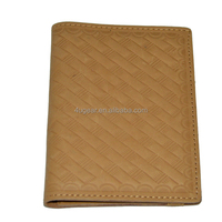 Classical design genuine leather wallet for men