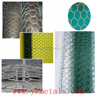 48''x50ft 1'' mesh green pvc coated poultry netting chicken wire