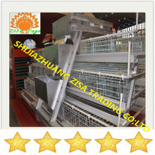 deisgn Hot dip galvanized A type chicken coop layer poultry cages farming equipment