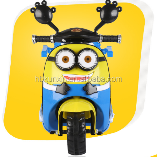 Alibaba cheap price 2-10 years old toy 6V4AH*2 motorcycle electric kids