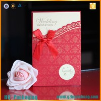 Customized Laser Cut Wedding Card / Japanese Greeting Card Design For Wholesale