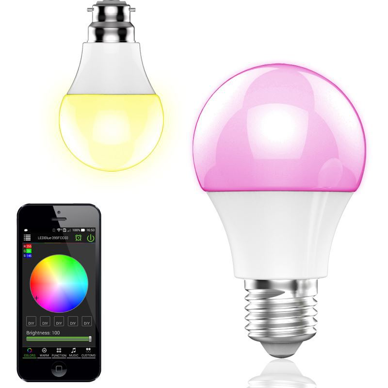 launching new product,Free APP,home lights miniature led bb speaker led strip music speaker smart mini shape