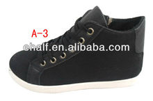 Cool Black board skating shoes casual shoes women