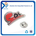 Custom stamping iron metal pin badge