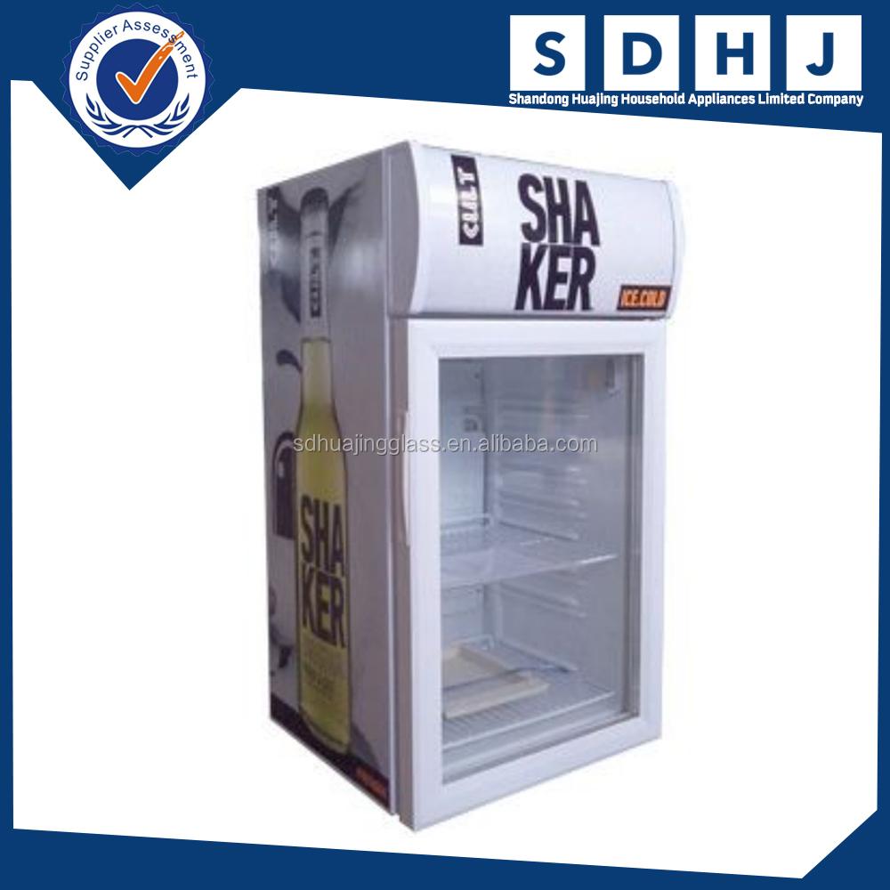 100 cheap glass door bar fridge small beverage coolers glas