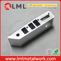 Custom Anodized Aluminum Extrusion CNC Machining Parts For Monocycle spare parts