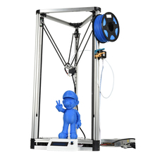 2017 hot selling Kossel 3d printer, 3d printing machine with 400*420*860 mm dimension