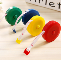 New Retractable Ruler Tape Measure 60 Inch Sewing Cloth Dieting Tailor 1.5m