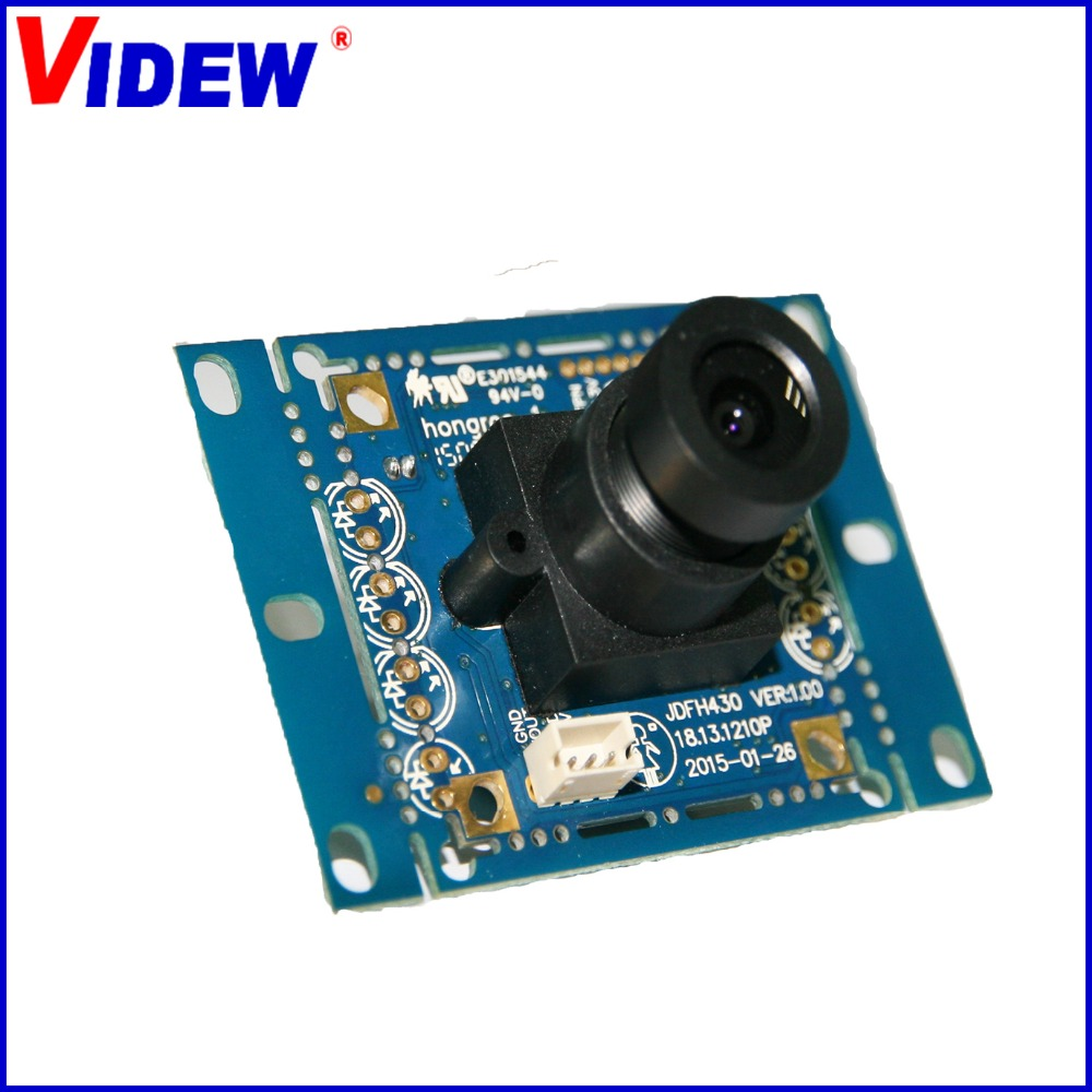 PAL and NTSC format infrared security analog camera