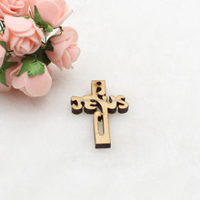 Jesus Wooden Cross Pendant different types of arts and crafts