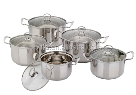 stainless steel soup pot sets with good quality