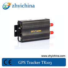 Remote Engine-stop and resume Wholesale Small GPS Tracking Device with SOS Software TK103A