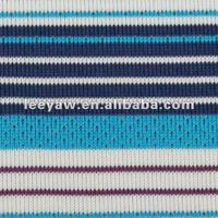 stripe jersey fabric made of 98% poly and 8% lycra