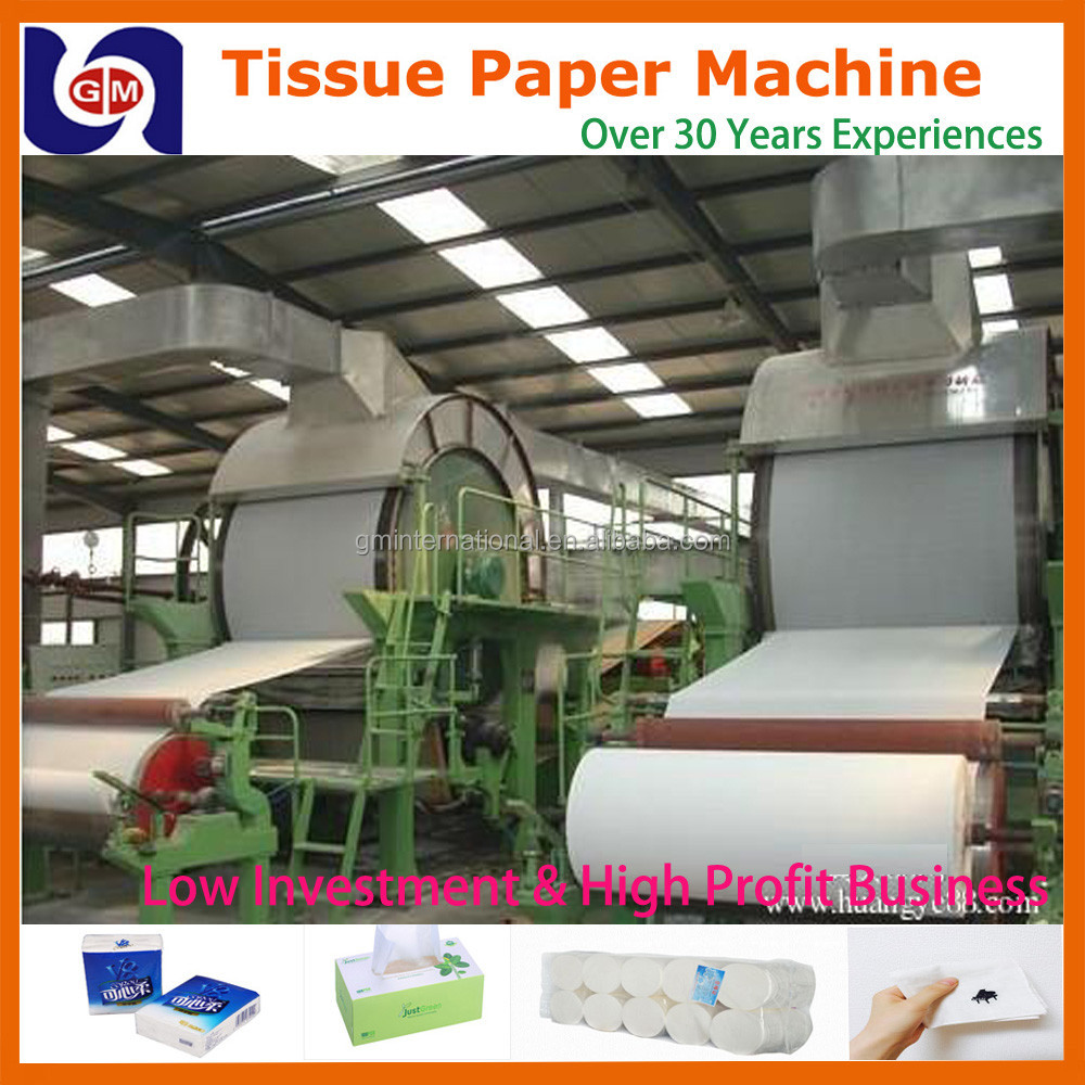 low cost 787mm 1tpd mini toilet tissue paper products making machinery