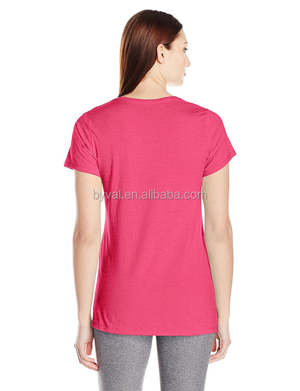 Dry Fit 100%Polyester T Shirt for Women Slim Fit O Neck Spandex Girls Plain T-shirt Promotion Running Tshirt Cheap Sale
