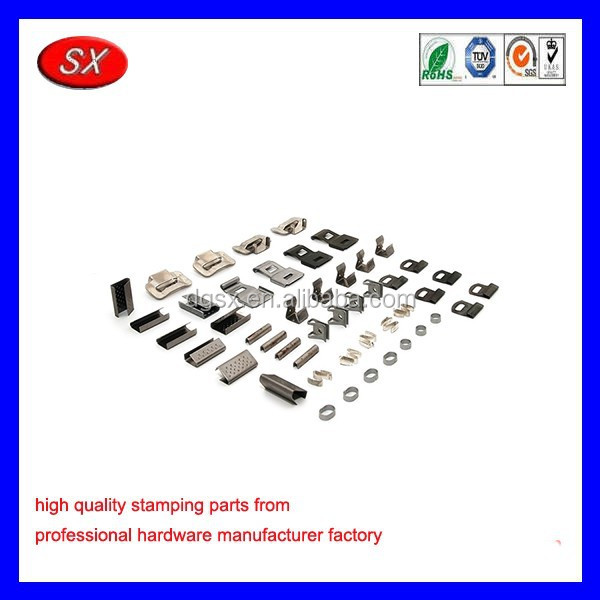 custom metals forming and cutting Small Steel stamping flat Spring metal Clip