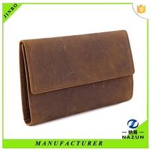 Original manufacturers man genuine leather wallet made in China