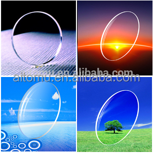 2016 New photo gray flat top bifocal mineral glass lenses with great price